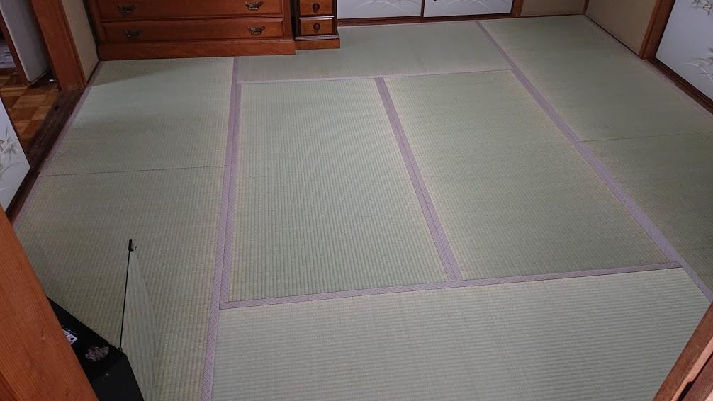 畳工事【新調 4帖半】(縁付たたみ)畳表=天然い草(中国産 JAS2等相当品)