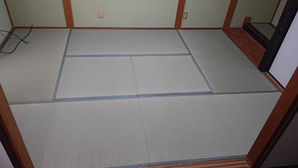 畳工事【新調 6帖】(縁付たたみ)畳表=天然い草(中国産 JAS2等相当品)